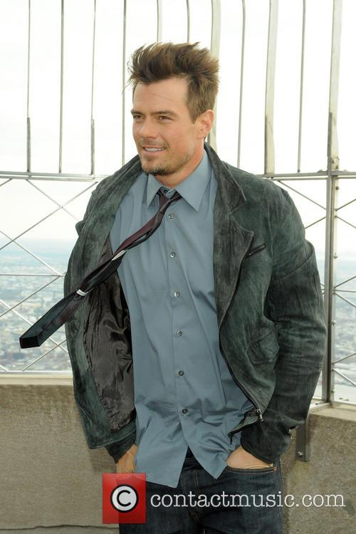Josh Duhamel attends a photocall to promote his new film 'Safe Haven' at the Empire State Building Observatory