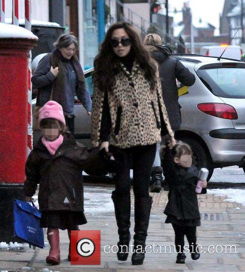 Myleene Klass, Ava and Hero 11