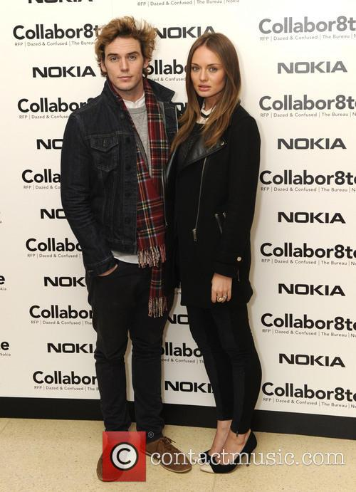 Laura Haddock and Sam Claflin 1