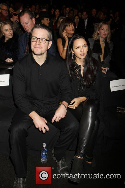 Matt Damon and Luciana Barroso 7