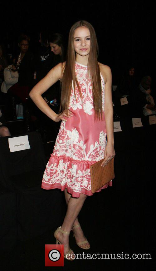 Morgan Saylor, New York Fashion Week