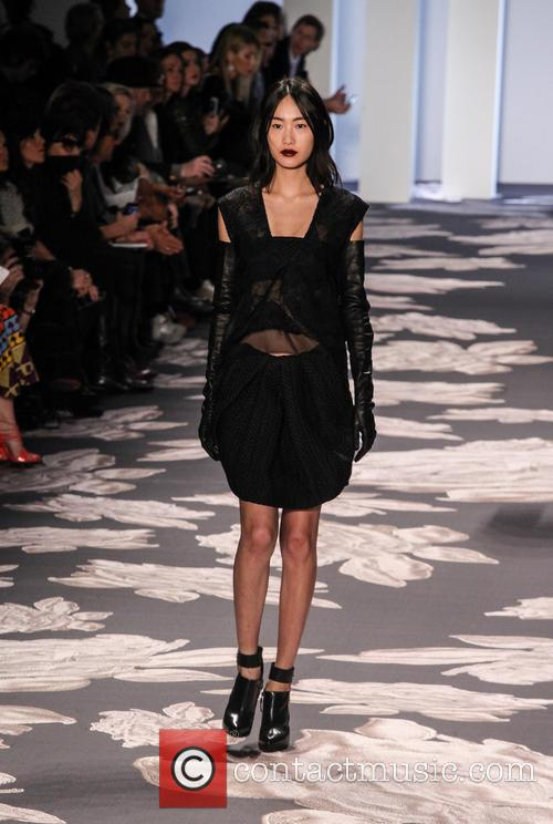 Vera Wang and Model 2