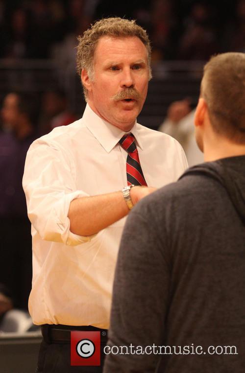 Will Ferrell, Staples Center