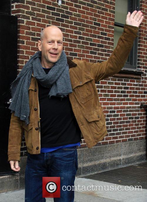 Bruce Willis, Ed Sullivan Theatre
