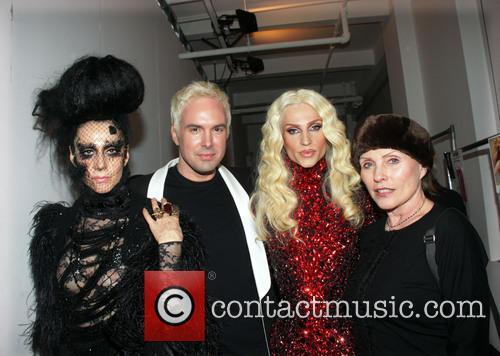 Susanne Bartsch, David Blond, Phillipe Blond and Debbie Harry 2