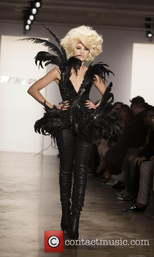 New York fashion week The Blonds runway