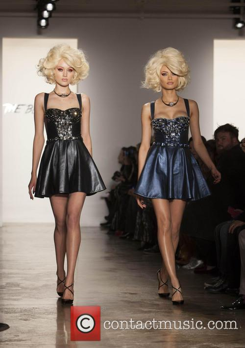 New York fashion week The Blonds runway