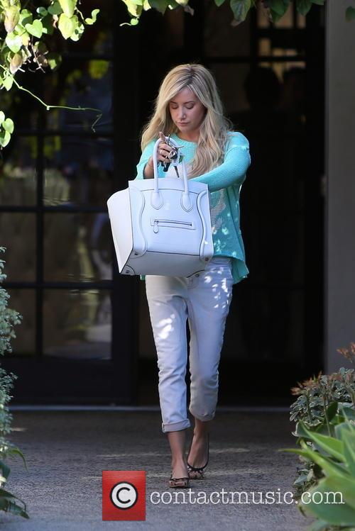 ashley tisdale ashley tisdale seen leaving andy 3510005