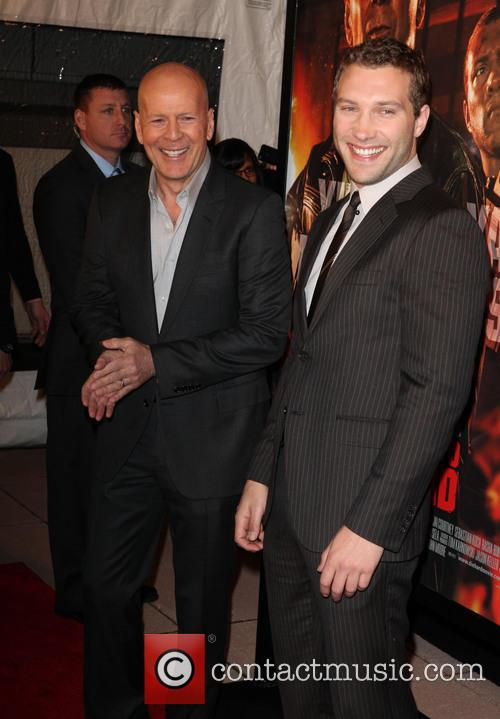 Bruce Willis and Jai Courtney 2