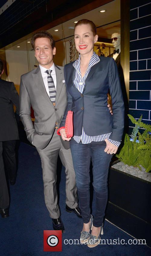 Alice Evans and Ioan Gruffudd 1
