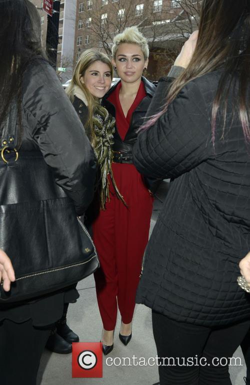 Miley Cyrus, New York, New York Fashion Week