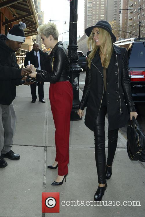 Miley Cyrus and Tish Cyrus 1