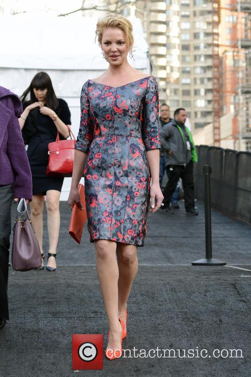 Katherine Heigl, New York Fashion Week