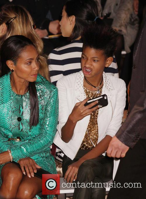 Jada Pinkett Smith and Willow Smith 1