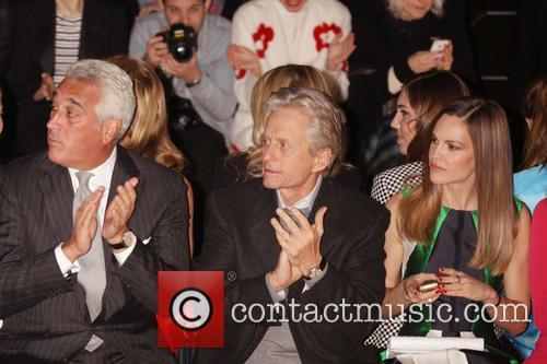 Michael Douglas and Hilary Swank 2