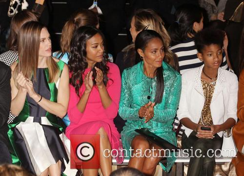 Zoe Saldana, Jada Pinkett Smith, Willow Smith and Hilary Swank 3