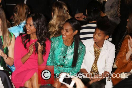 Zoe Saldana, Jada Pinkett Smith and Willow Smith 1