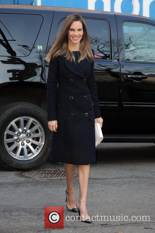 Hilary Swank, New York Fashion Week