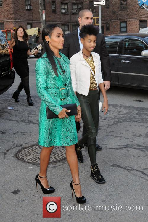 Jada Pinkett-Smith and Willow Smith 2