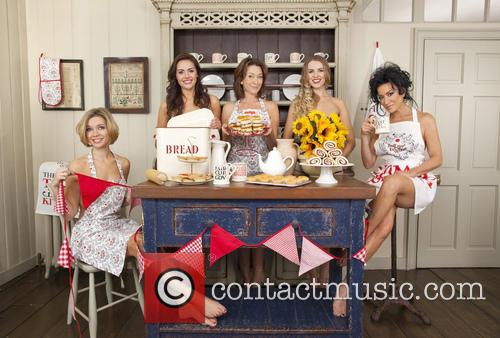 Rachel Riley, Kelsey Beth Crossley, Cherie Lunghi, Zoe Salmon and Nancy Dell'olio 2