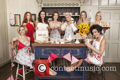 Rachel Riley, Natasha Hamilton, Kelsey Beth Crossley, Cherie Lunghi, Kerry Katona, Zoe Salmon, Liz Mcclarnon and Nancy Dell'olio