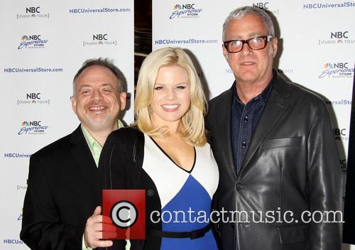 Marc Shaiman, Scott Wittman and Megan Hilty 2