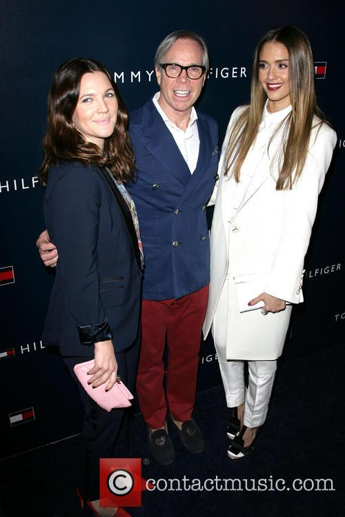 Drew Barrymore, Tommy Hilfiger and Jessica Alba 5