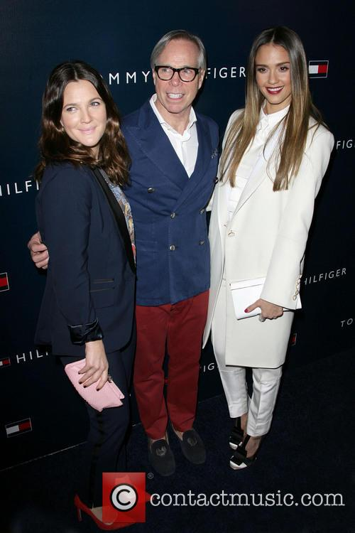 Drew Barrymore, Tommy Hilfiger and Jessica Alba 4