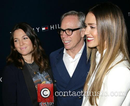 Drew Barrymore, Tommy Hilfiger and Jessica Alba 1