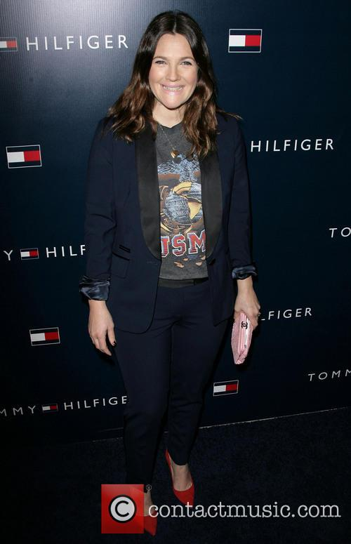 Drew Barrymore, Tommy Hilfiger Store Opening
