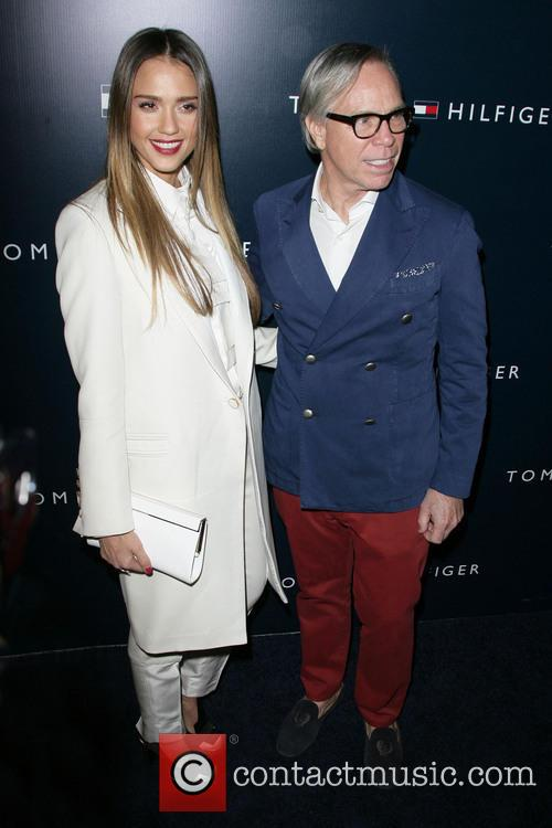 Jessica Alba and Tommy Hilfiger 10