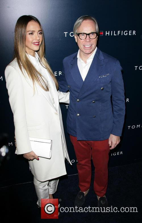 Jessica Alba and Tommy Hilfiger 11