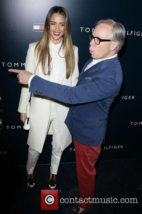 Jessica Alba and Tommy Hilfiger 4