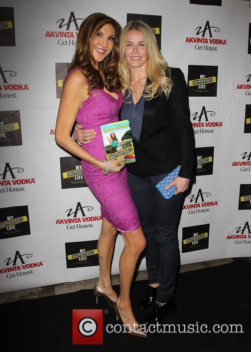 Heather Mcdonald and Chelsea Handler 2