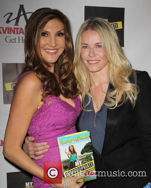 Heather Mcdonald and Chelsea Handler 1