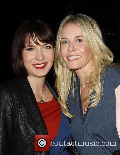 Diablo Cody and Chelsea Handler 1