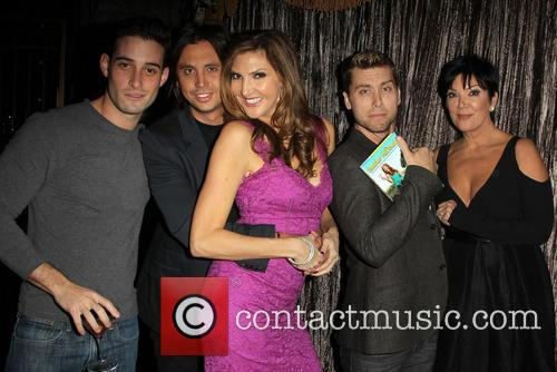 Jonathan Cheban, Heather Mcdonald, Lance Bass and Kris Jenner 1