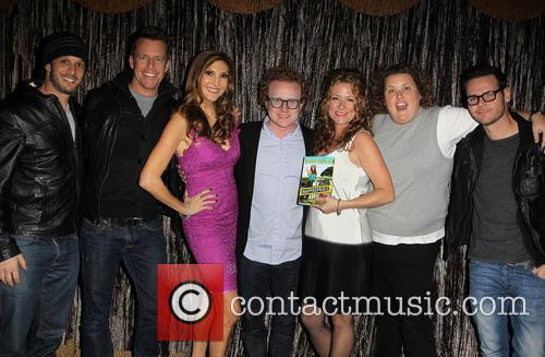 Josh Wolf, Chris Franjola, Heather Mcdonald, Brad Wollack, Sarah Colonna and Jeff Wild 2