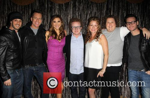 Josh Wolf, Chris Franjola, Heather Mcdonald, Brad Wollack, Sarah Colonna and Jeff Wild 3