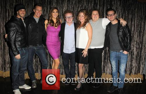 Josh Wolf, Chris Franjola, Heather Mcdonald, Brad Wollack, Sarah Colonna and Jeff Wild 4