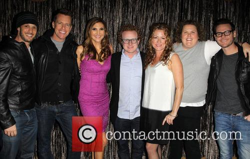 Josh Wolf, Chris Franjola, Heather Mcdonald, Brad Wollack, Sarah Colonna and Jeff Wild 1