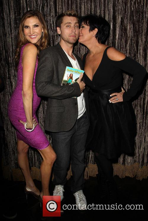 Lance Bass, Heather Mcdonald and Kris Jenner 2