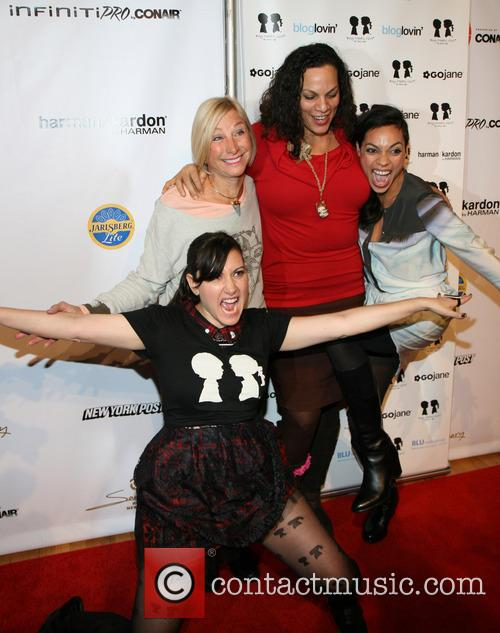 Stacy Igel, Dj Norma, Isabel Dawson and And Rosaro Dawson 1