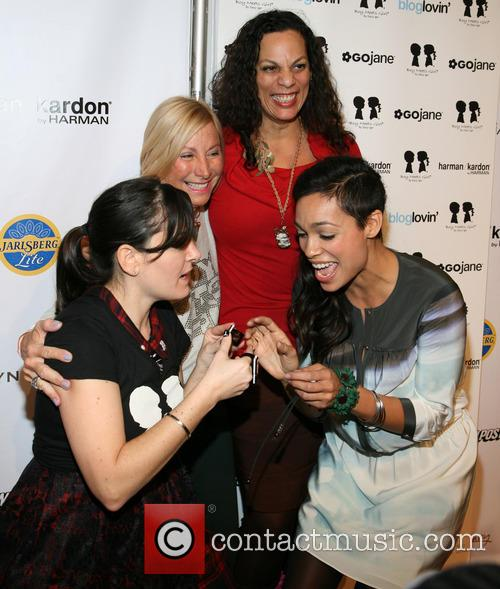 Stacy Igel, Dj Norma, Isabel Dawson and And Rosaro Dawson 6