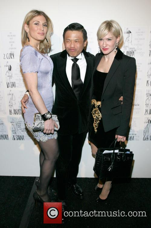 Hofit Golan, Zang Toi and Julie Macklowe 2