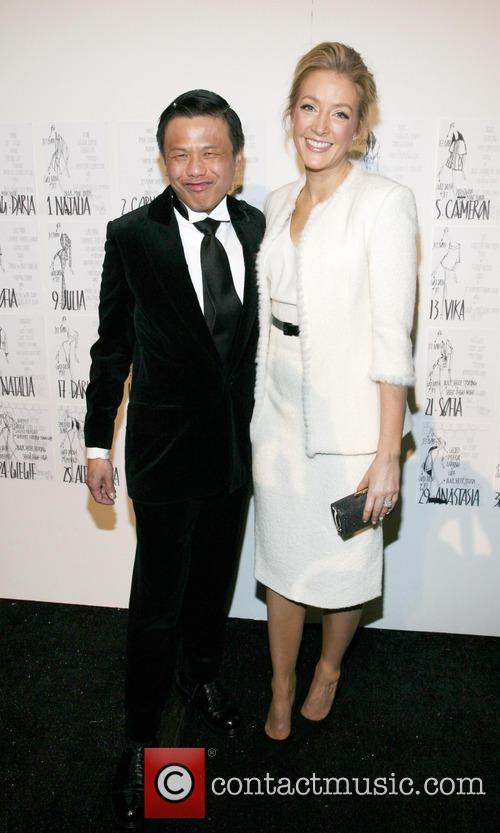 Zang Toi and Jennifer Finnigan 6