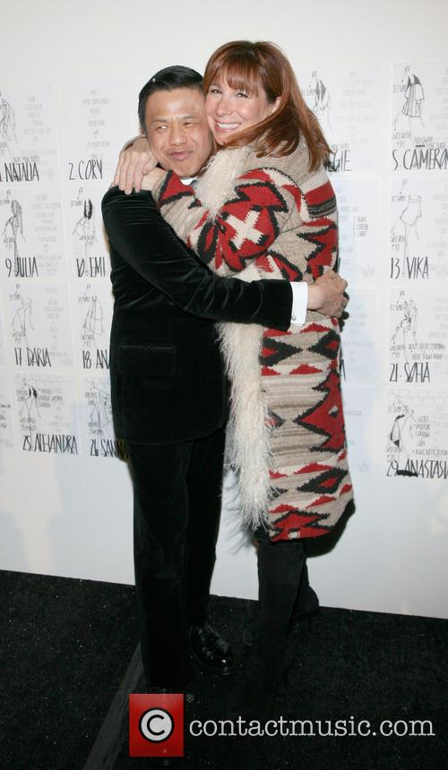 Zang Toi and Jill Zarin 7