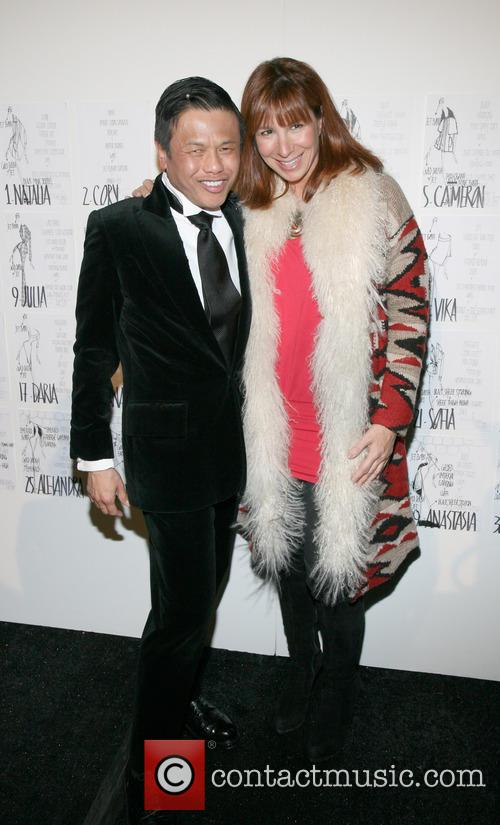 Zang Toi and Jill Zarin 11