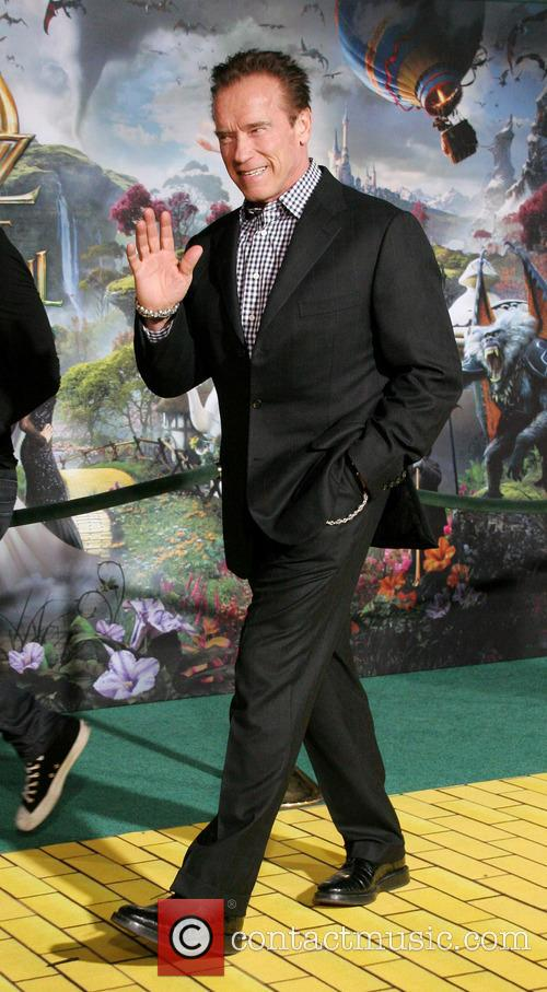 Arnold Schwarzenegger, Oz The Great And Powerful Premiere