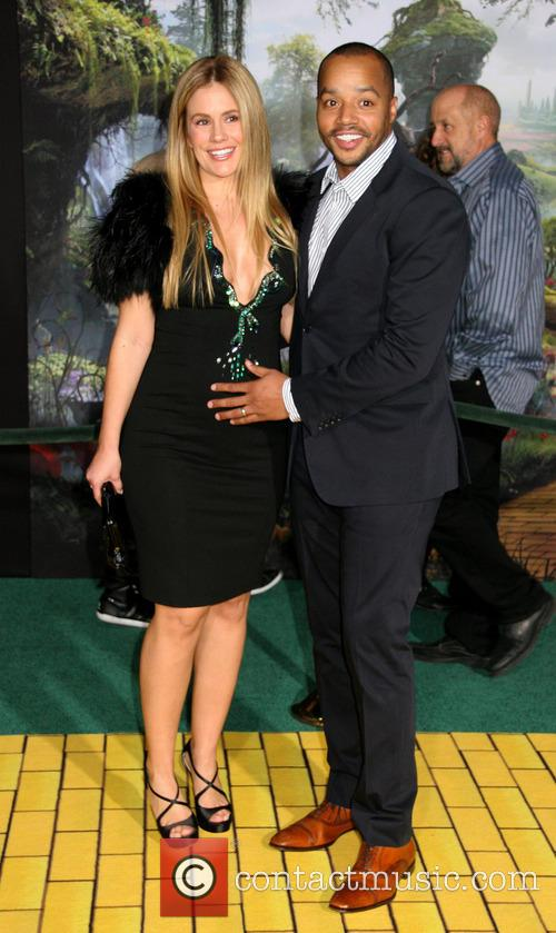 Cacee Cobb and Donald Faison 1